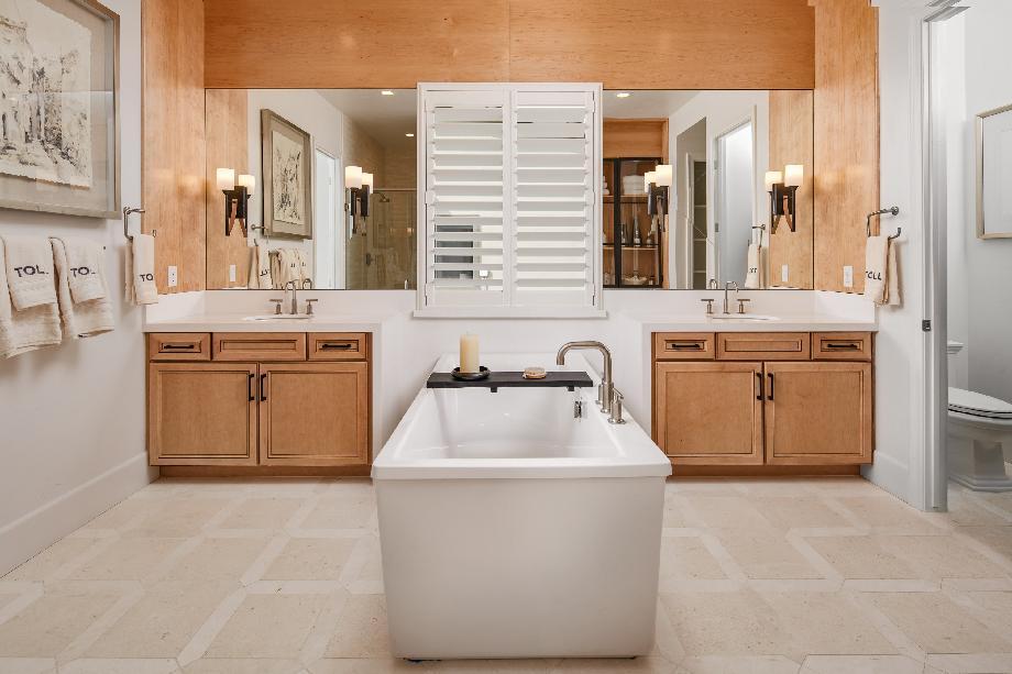 Avondale sumptuous primary bathroom
