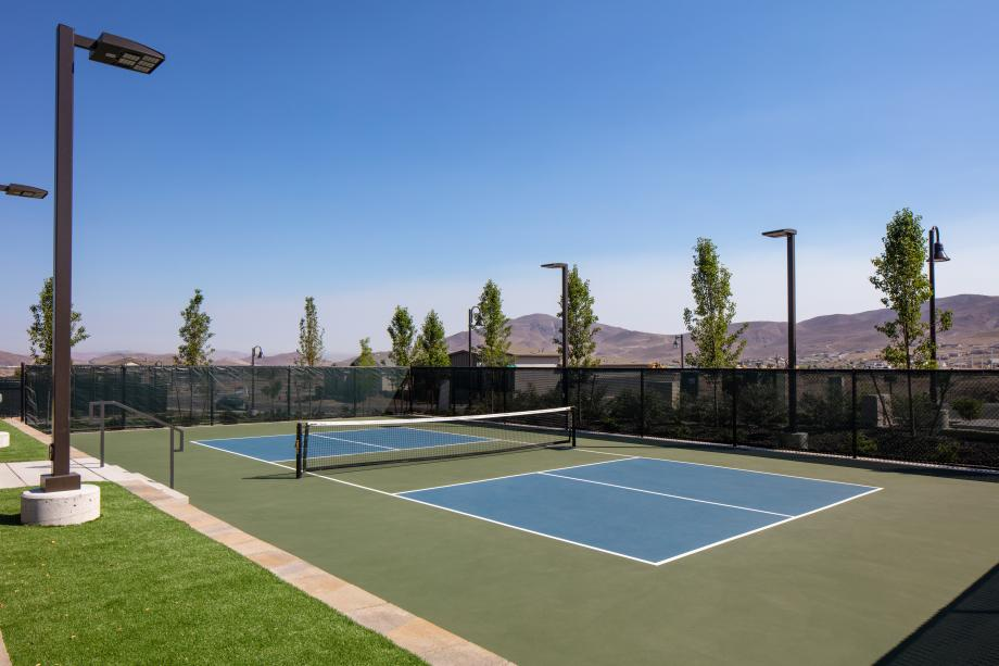 Multiple pickleball courts for a fun way to stay fit