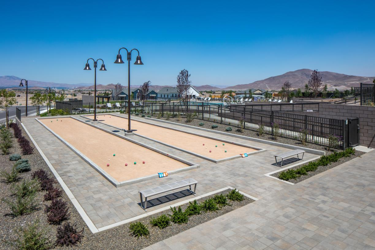 Meet up with friends for a game of bocce