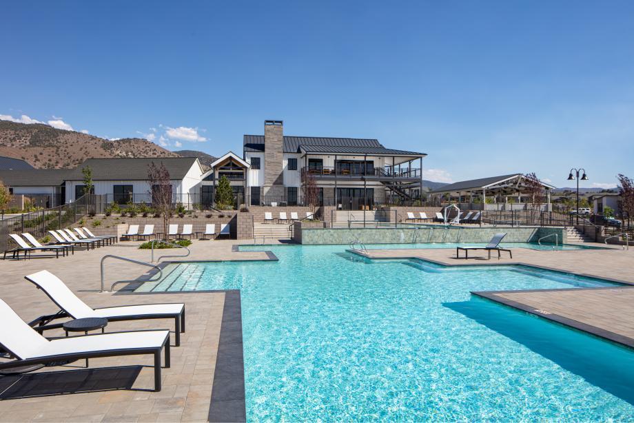 Enjoy the resort-style pool