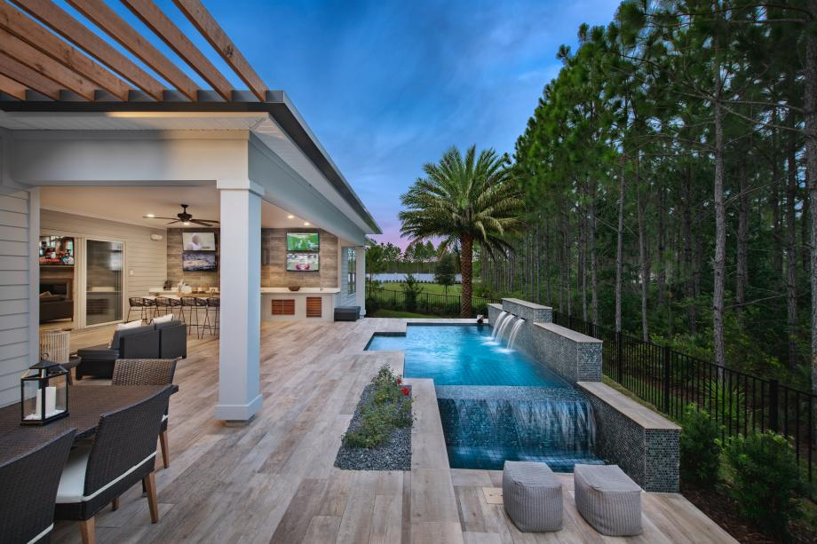 Outdoor kitchens with pool designs personalized to you