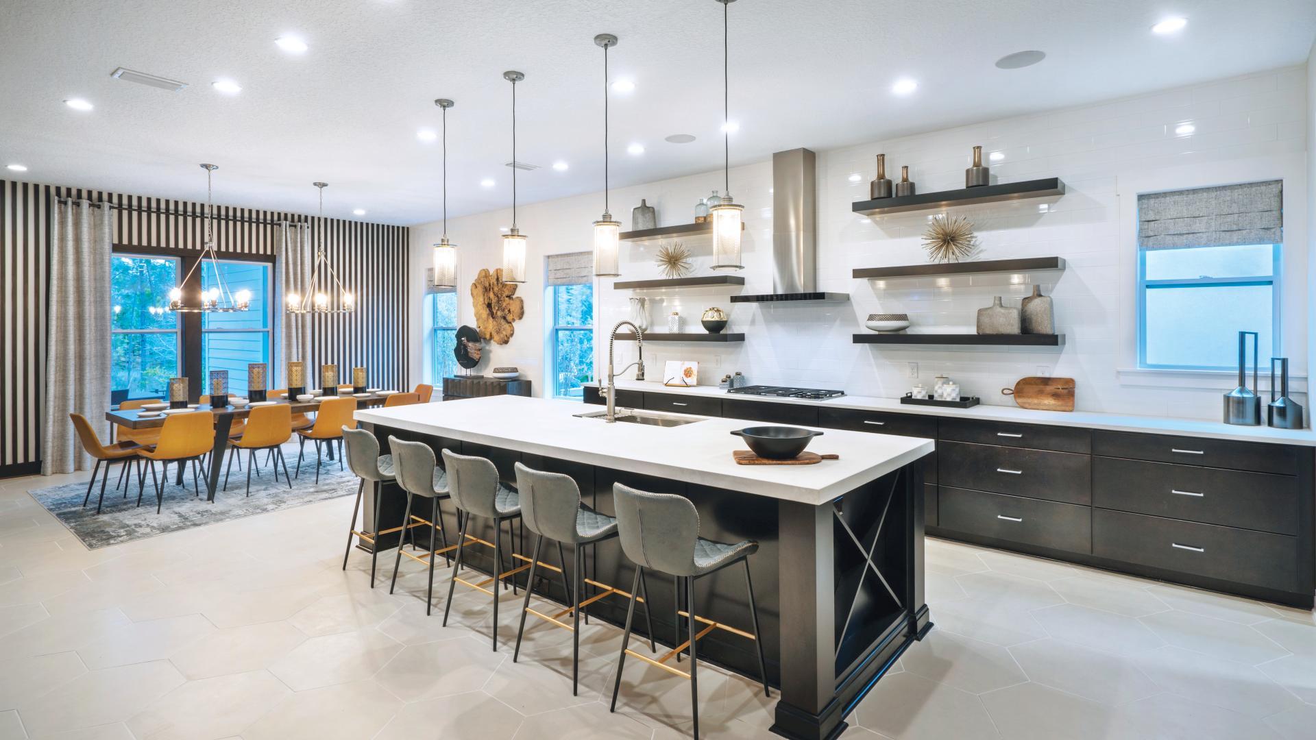 Abigail Modern Craftsman Kitchen