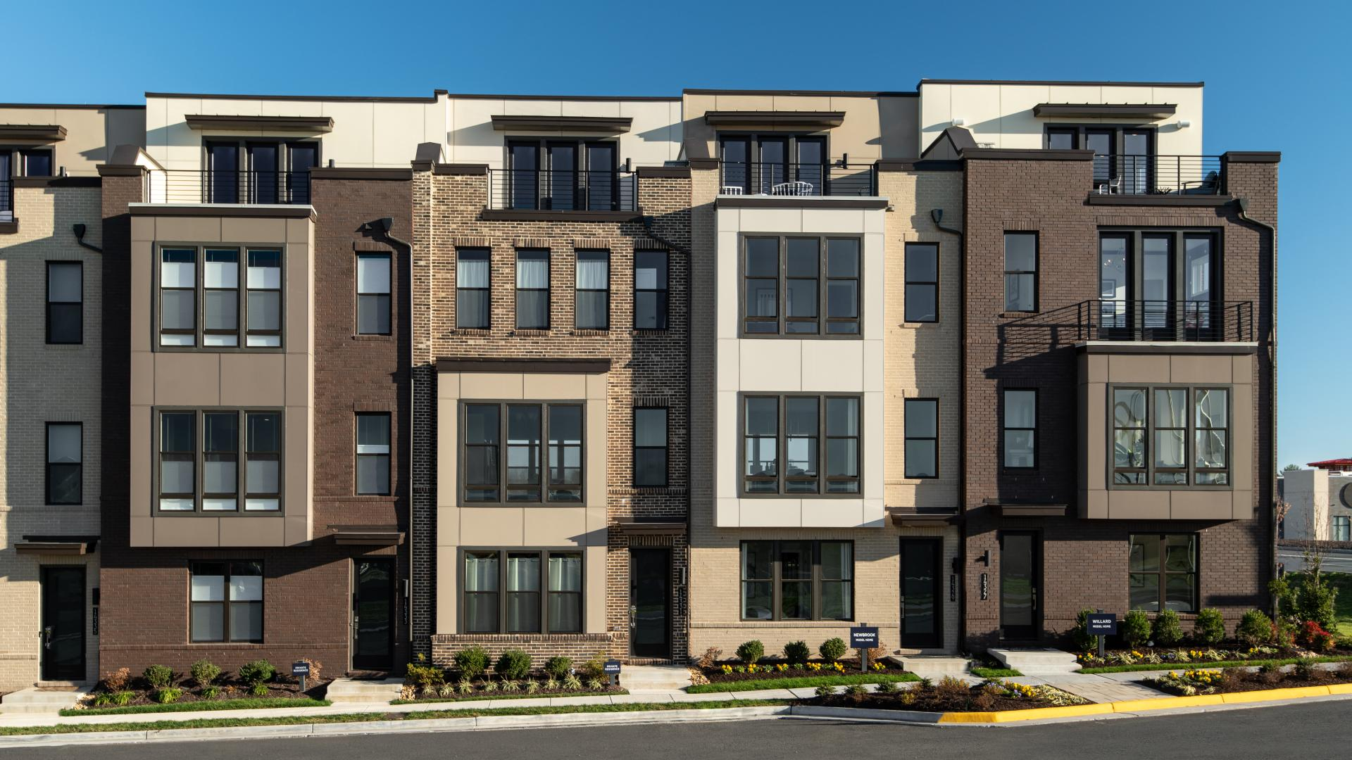 Townhomes at The Braddock Collection