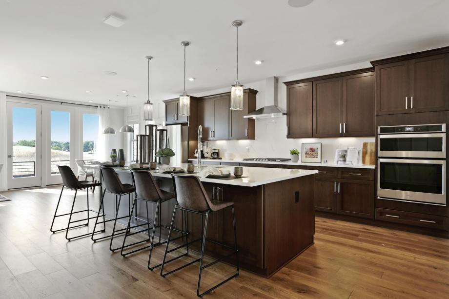 Expansive modern kitchen designs