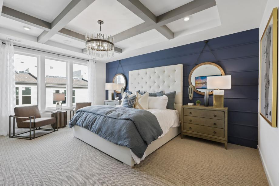Relax and recharge in primary bedroom suites