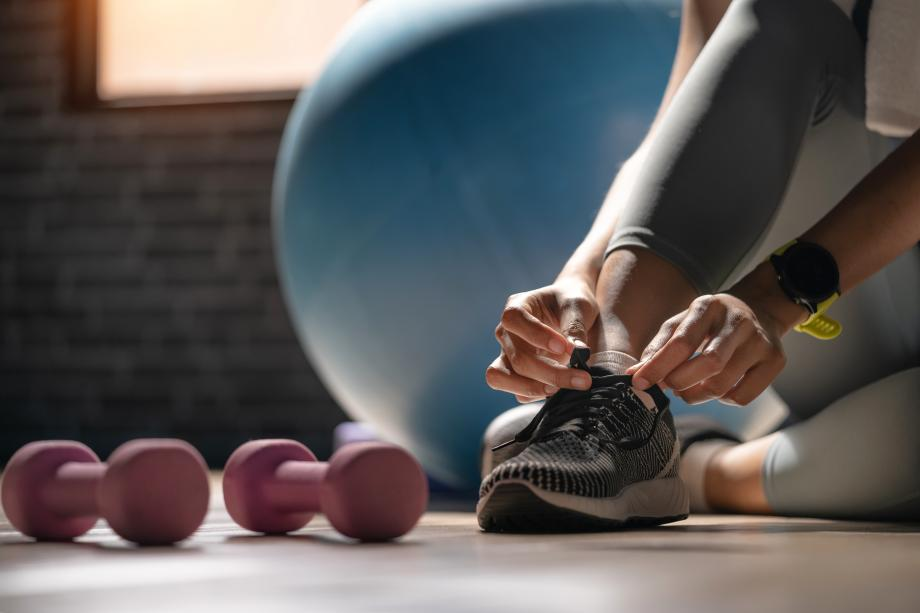 Enjoy a workout at the community fitness center