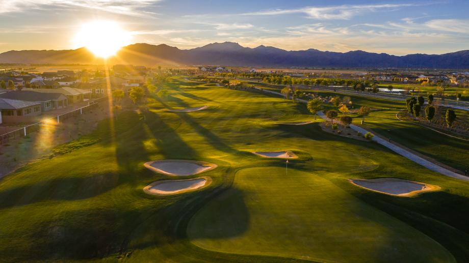 Beautiful 18-hole Nicklaus Design golf course with views of the White Tank Mountains
