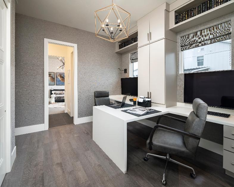 Versatile home office space to suite your needs