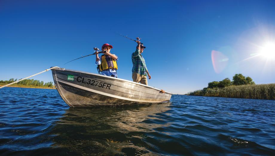 Enjoy fishing year-round