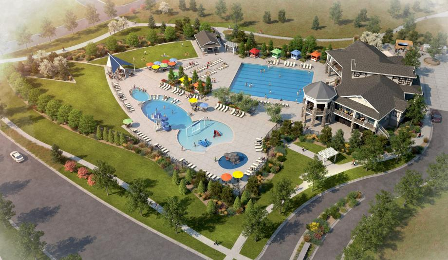 The Lighthouse amenity center coming soon