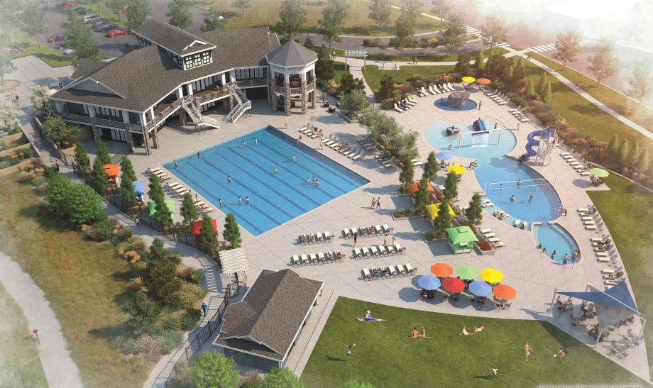 The Lighthouse will feature two pools and several event spaces