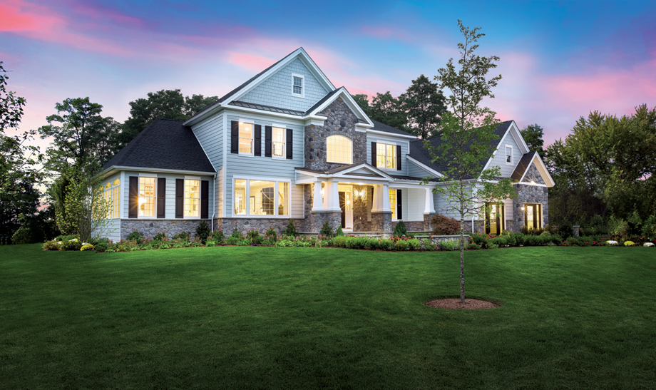 Orchard Ridge offers large home sites and award-winning home designs