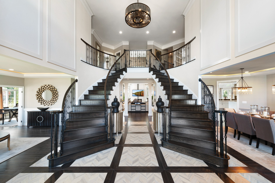 Welcome home to your stunning grand entrance foyer