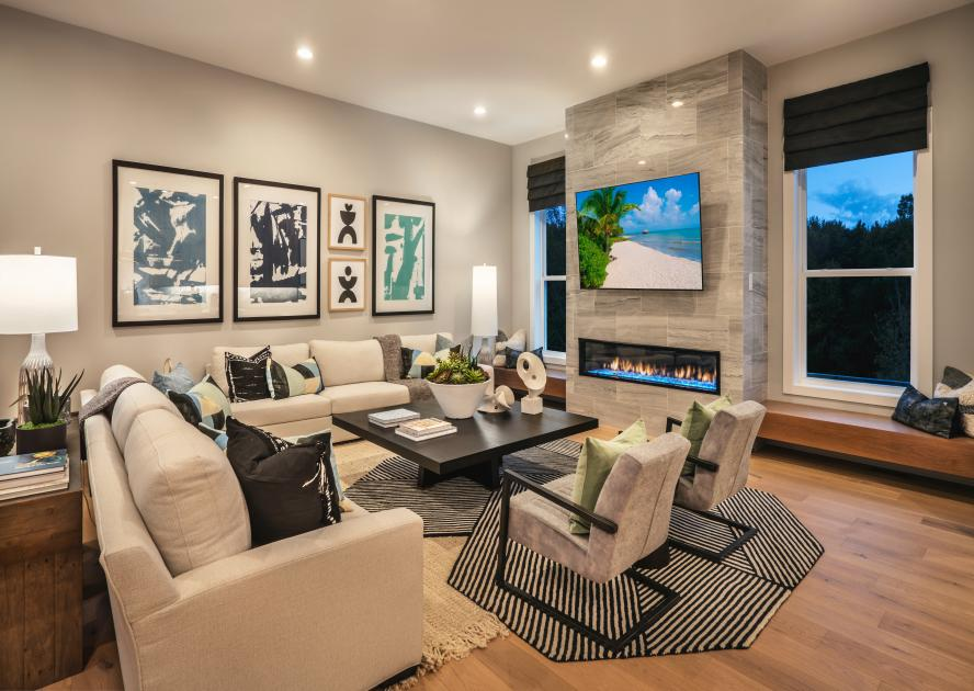 Entertain in style in large great rooms