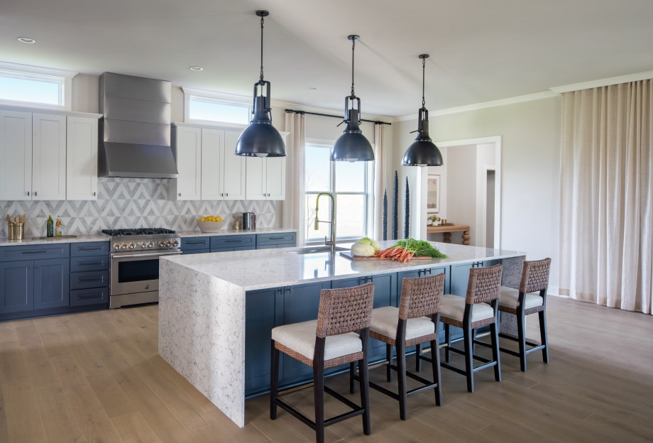 Modern finished combined with smart design creates the perfect space for you