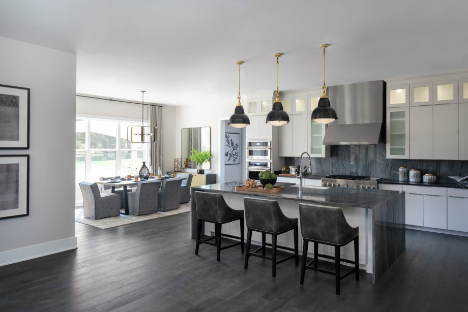 Expansive kitchen provide ample room for entertainment