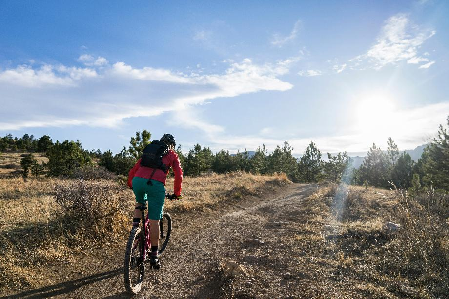 Endless options nearby for hiking and biking