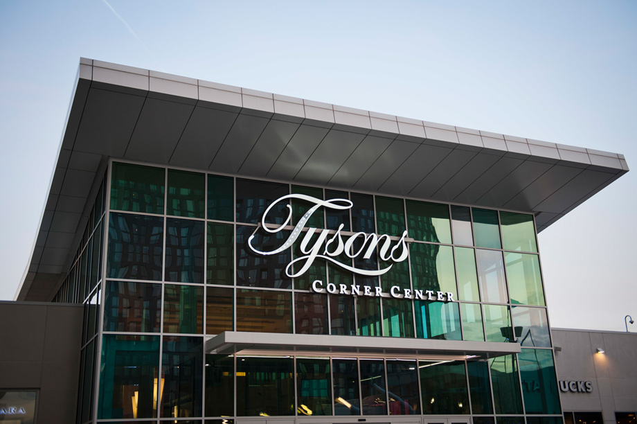 Exceptional upscale shopping at nearby Tysons Corner and Tysons Galleria