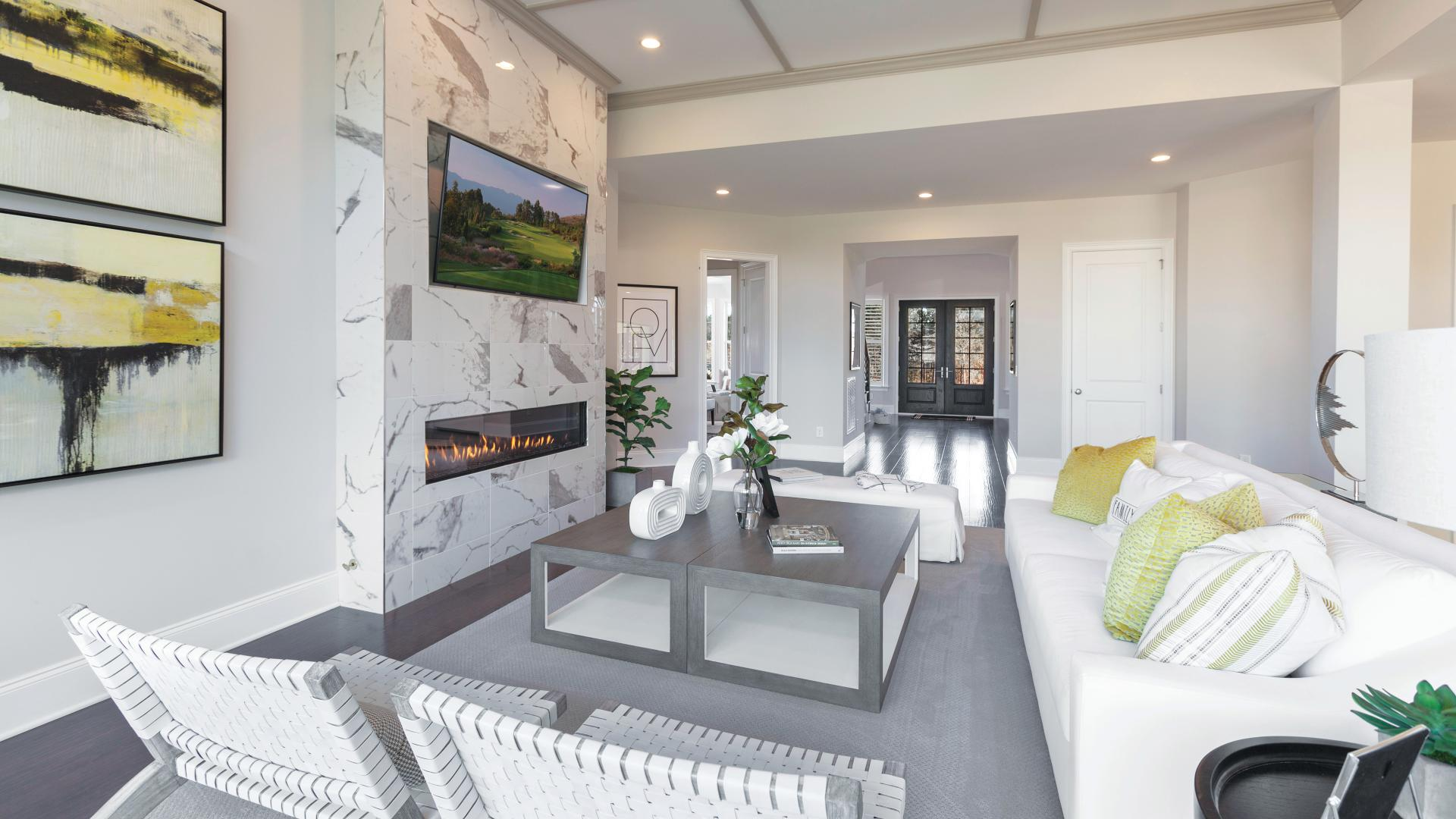 Entertaining is a breeze in the spacious great room