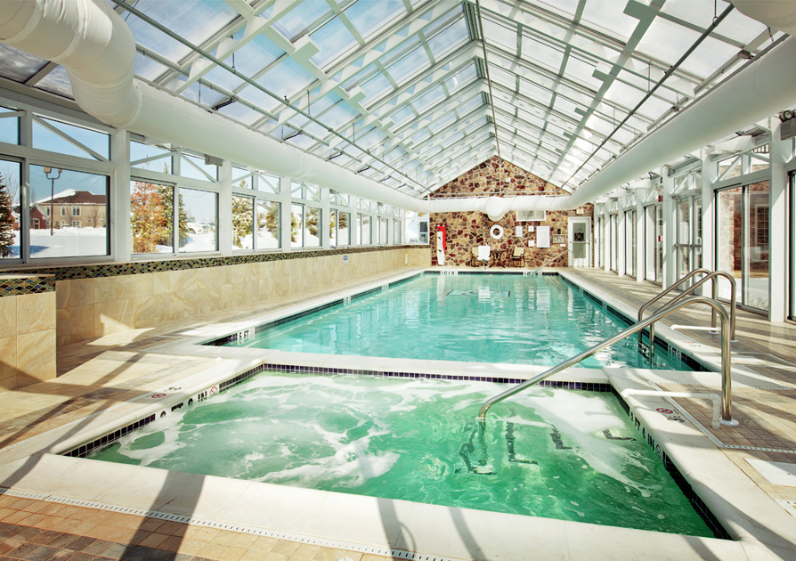 Indoor pool at the clubhouse – Representative photo