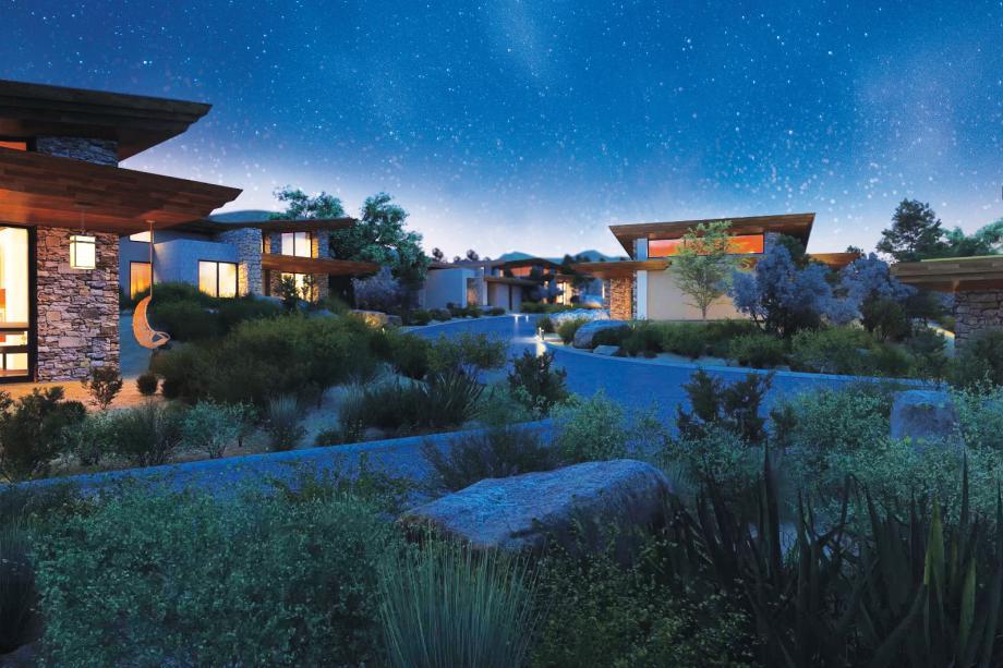 Sereno Sonoran Desert setting with award-winning home designs