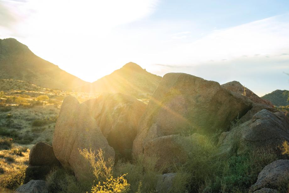 One-of-a-kind home sites nestled in the Sonoran Desert