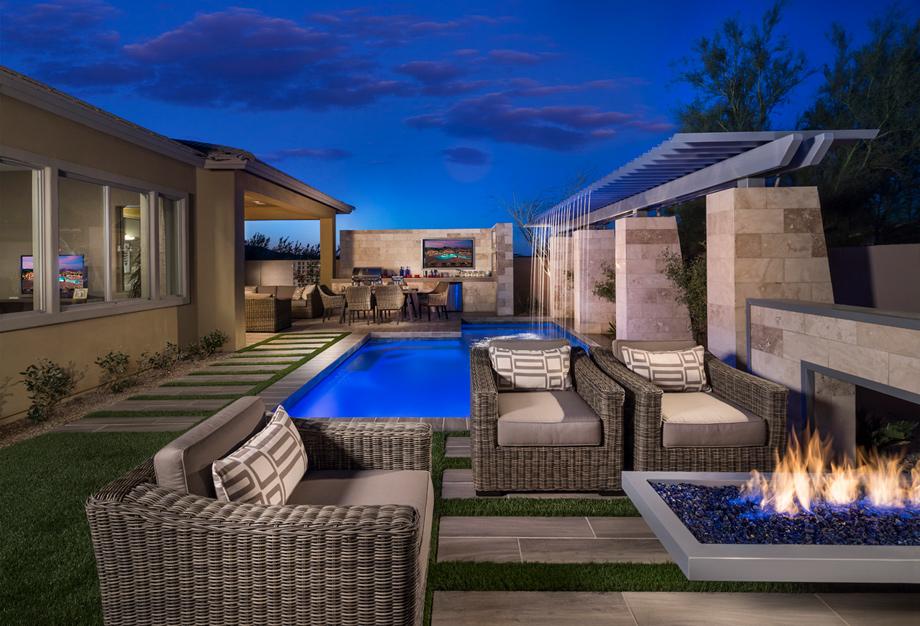 Comfortable villas