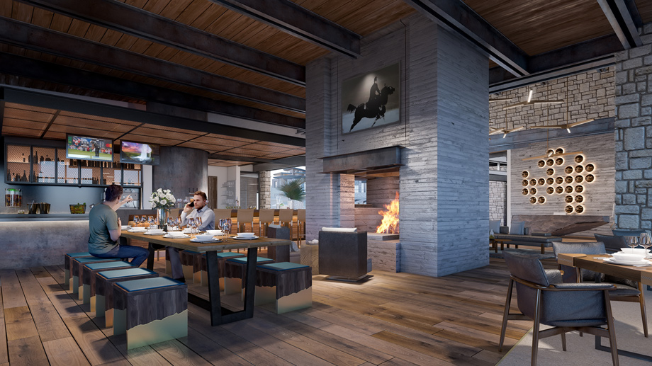 Mountain House Lodge - Dining area