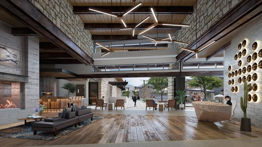 Mountain House Lodge - Lobby