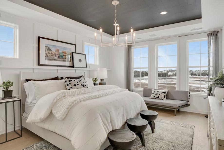 NoMa primary bedroom