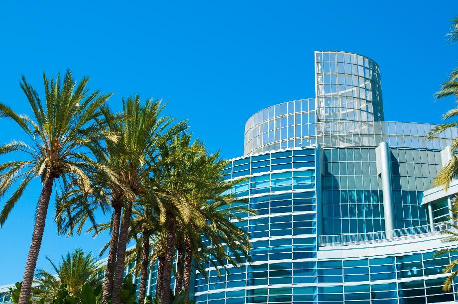 Near the Anaheim Convention Center