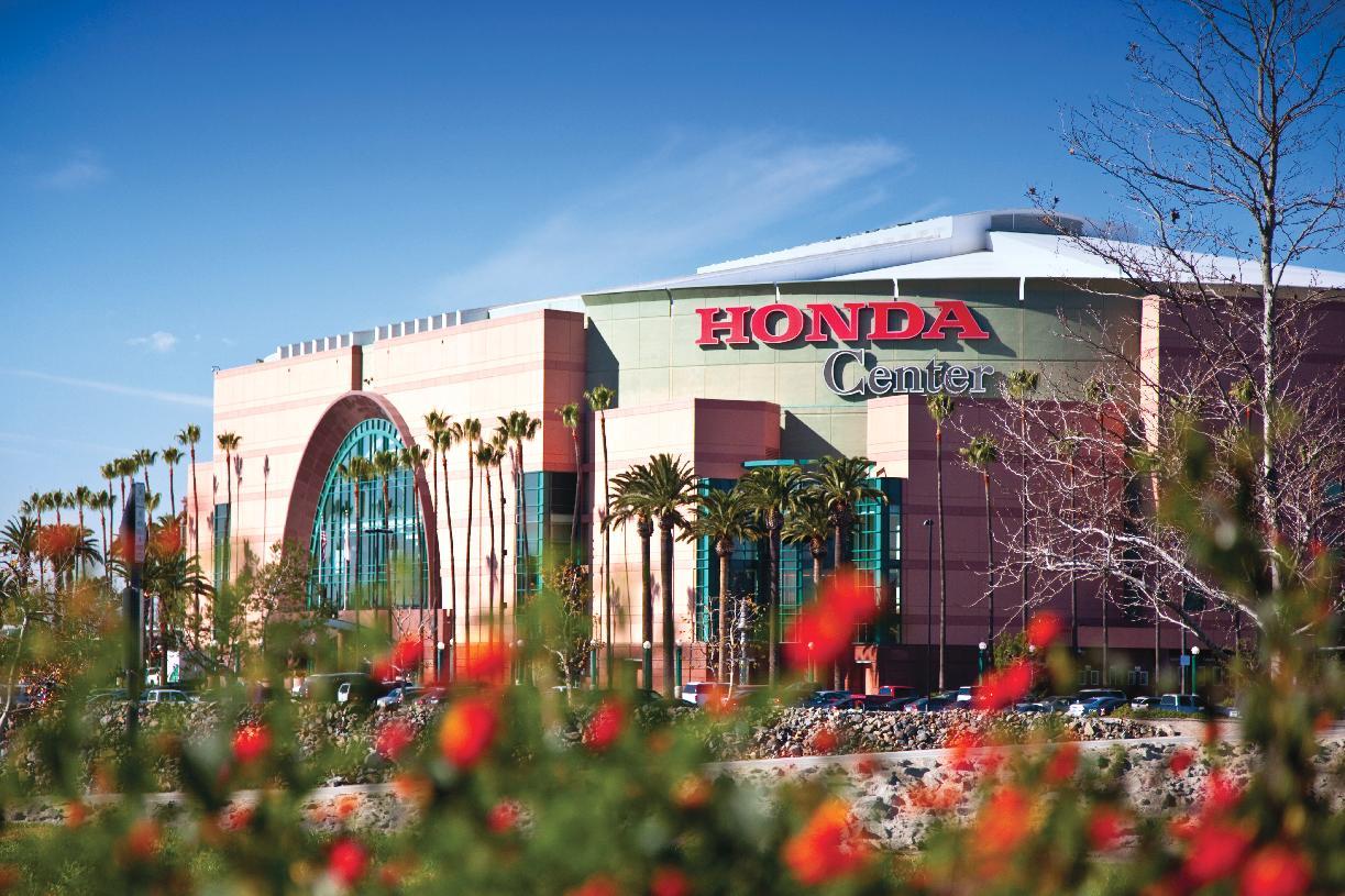 Entertainment at the Honda Center