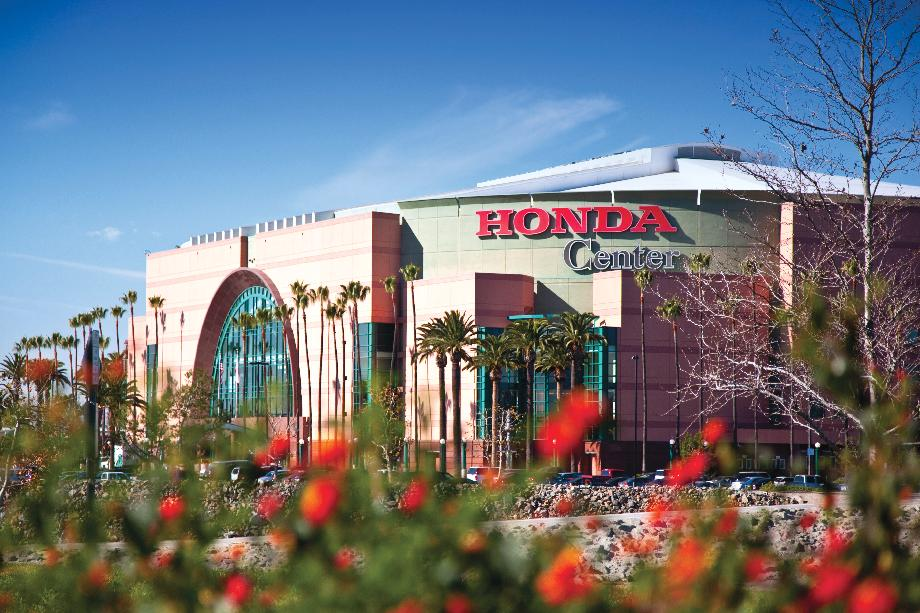 Entertainment options at the world-famous Honda Center