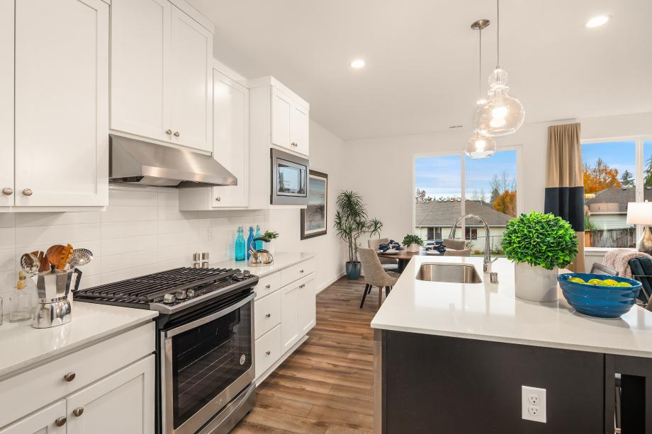The well-appointed kitchen will surely be the heart of the home