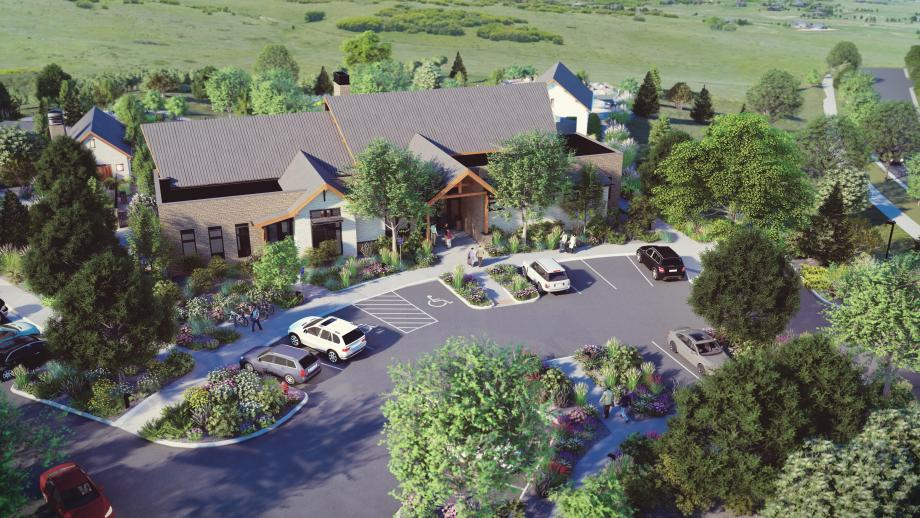 The Regency at Montaine Amenity Center will be the social hub of the community