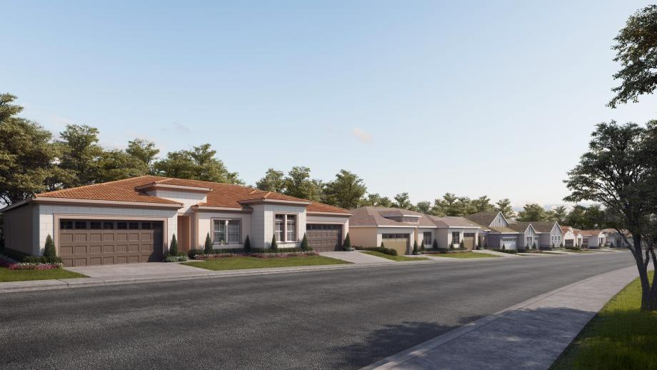 A variety of architectural styles will create a lovely streetscape
