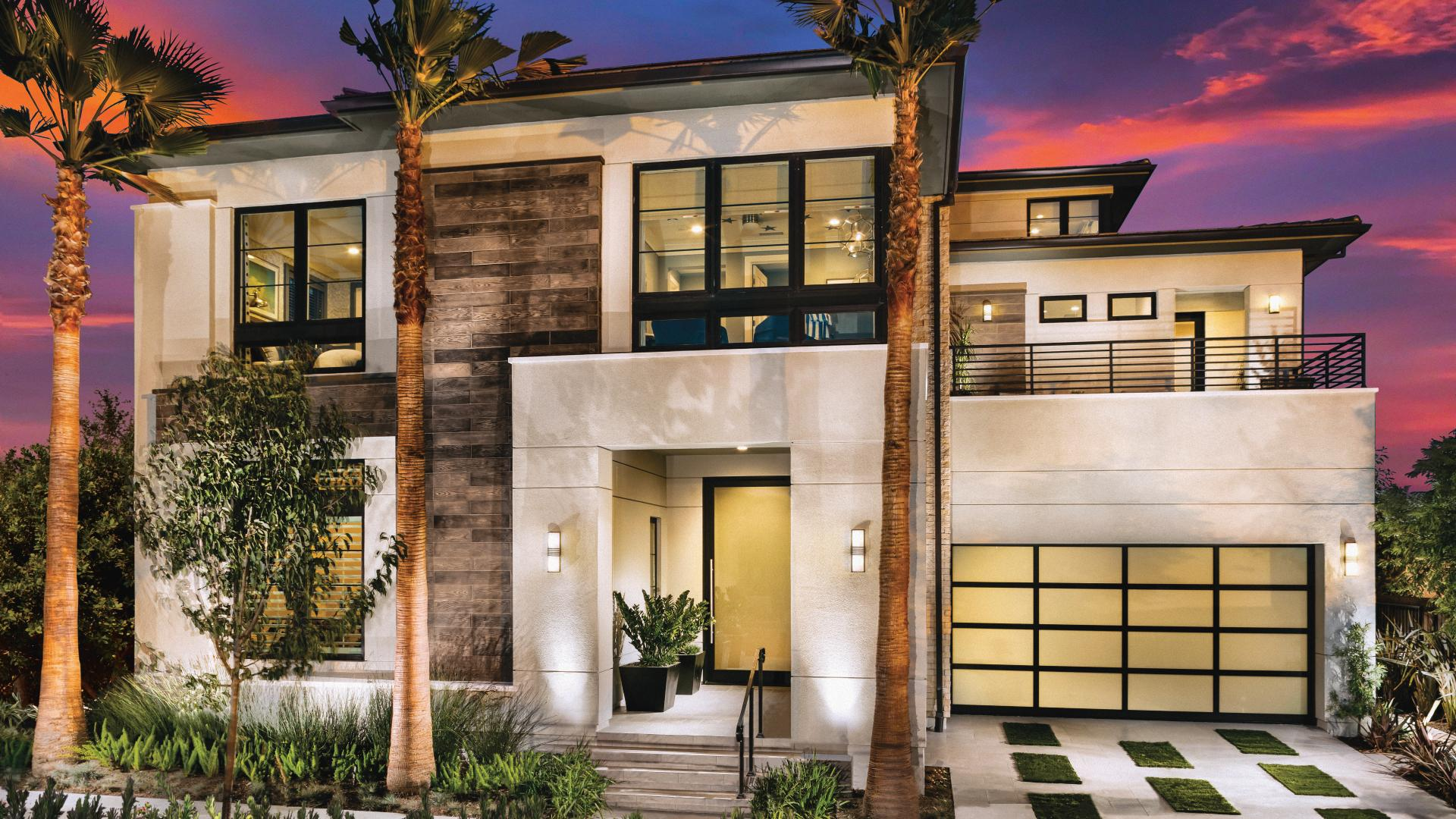 Home designs with modern exterior options