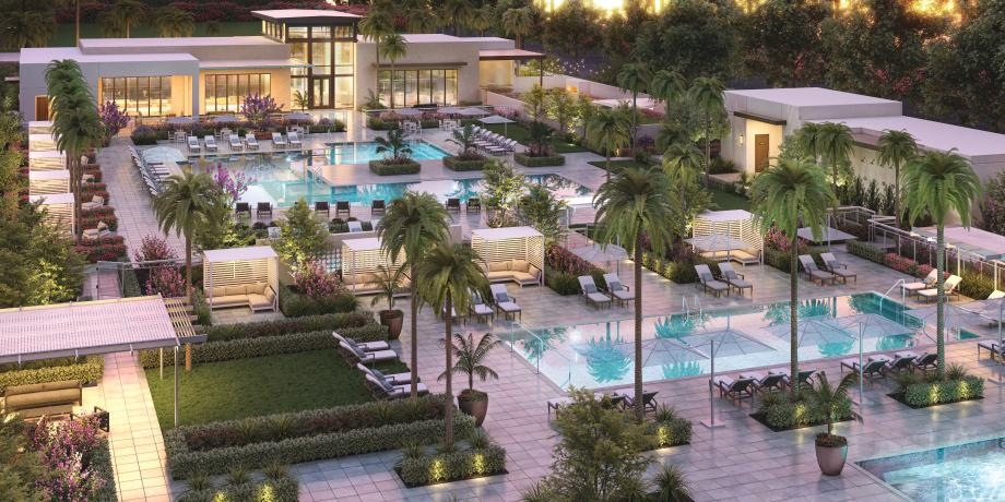 Resort-style amenities