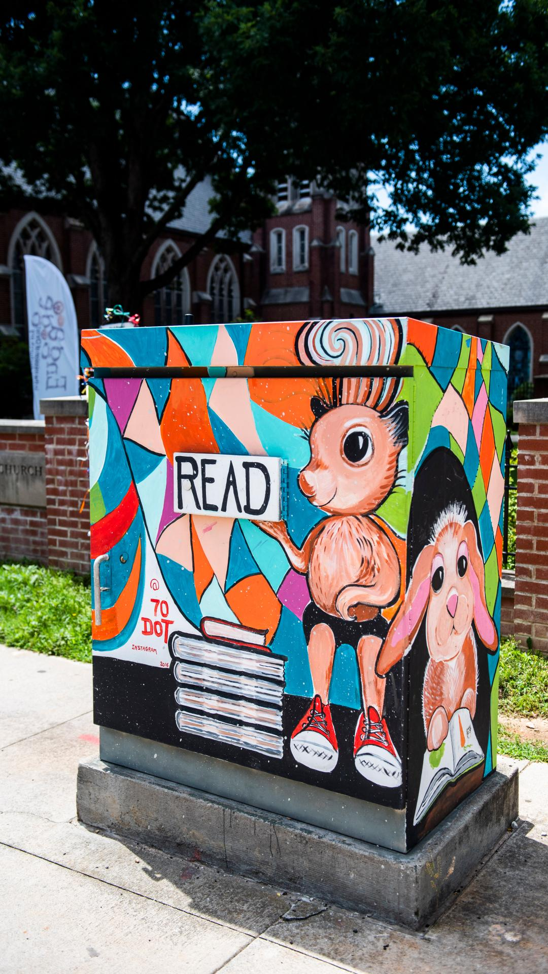 Enjoy the charming, small-town feel of Decatur