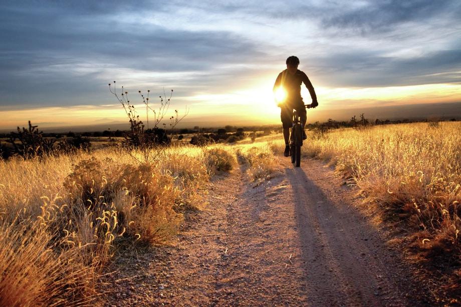 Take a bike ride or just enjoy the scenery