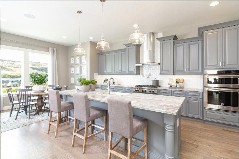 Spacious kitchen with island for entertaining