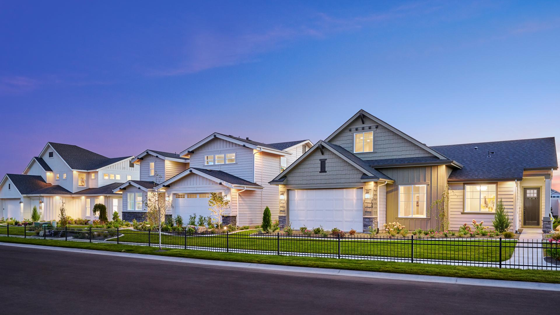 Carriage Hill West model complex in Nampa, Idaho