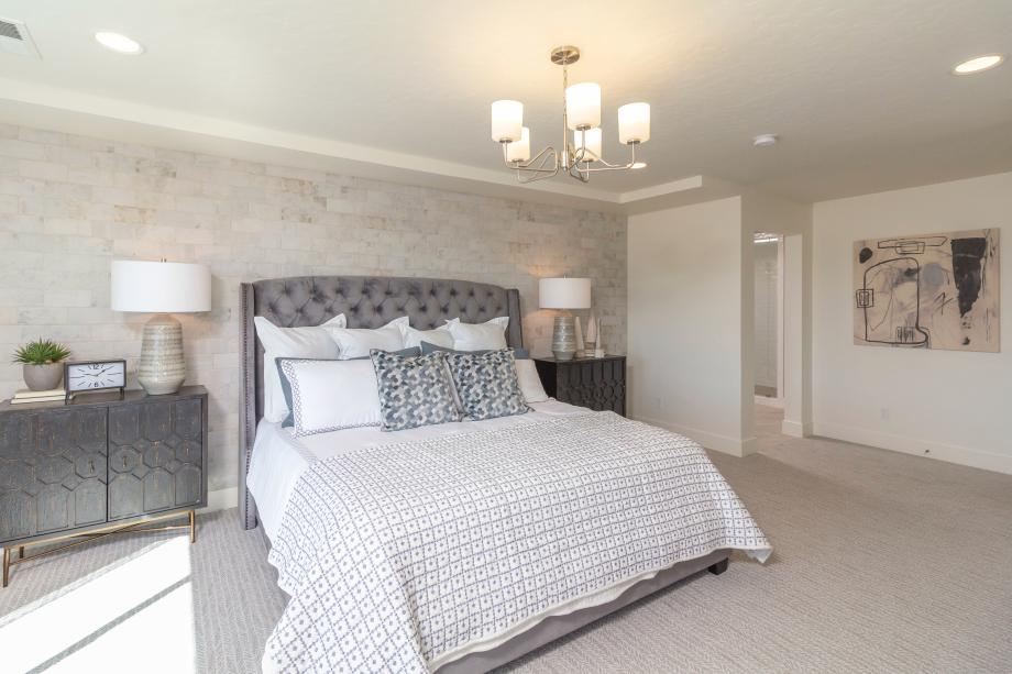 Cozy and full of character, this primary suite is a restful hideaway