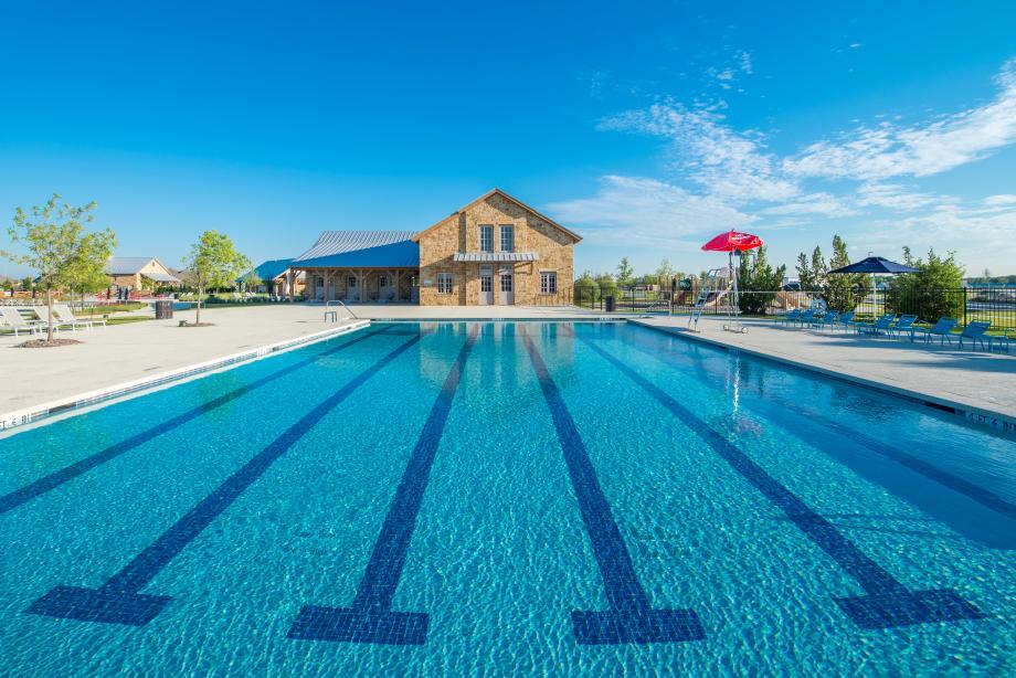 Swim laps in the lap pool