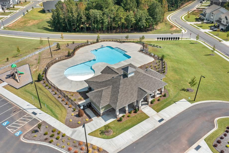 Perfect location for families with access to the tot lot and splash pad