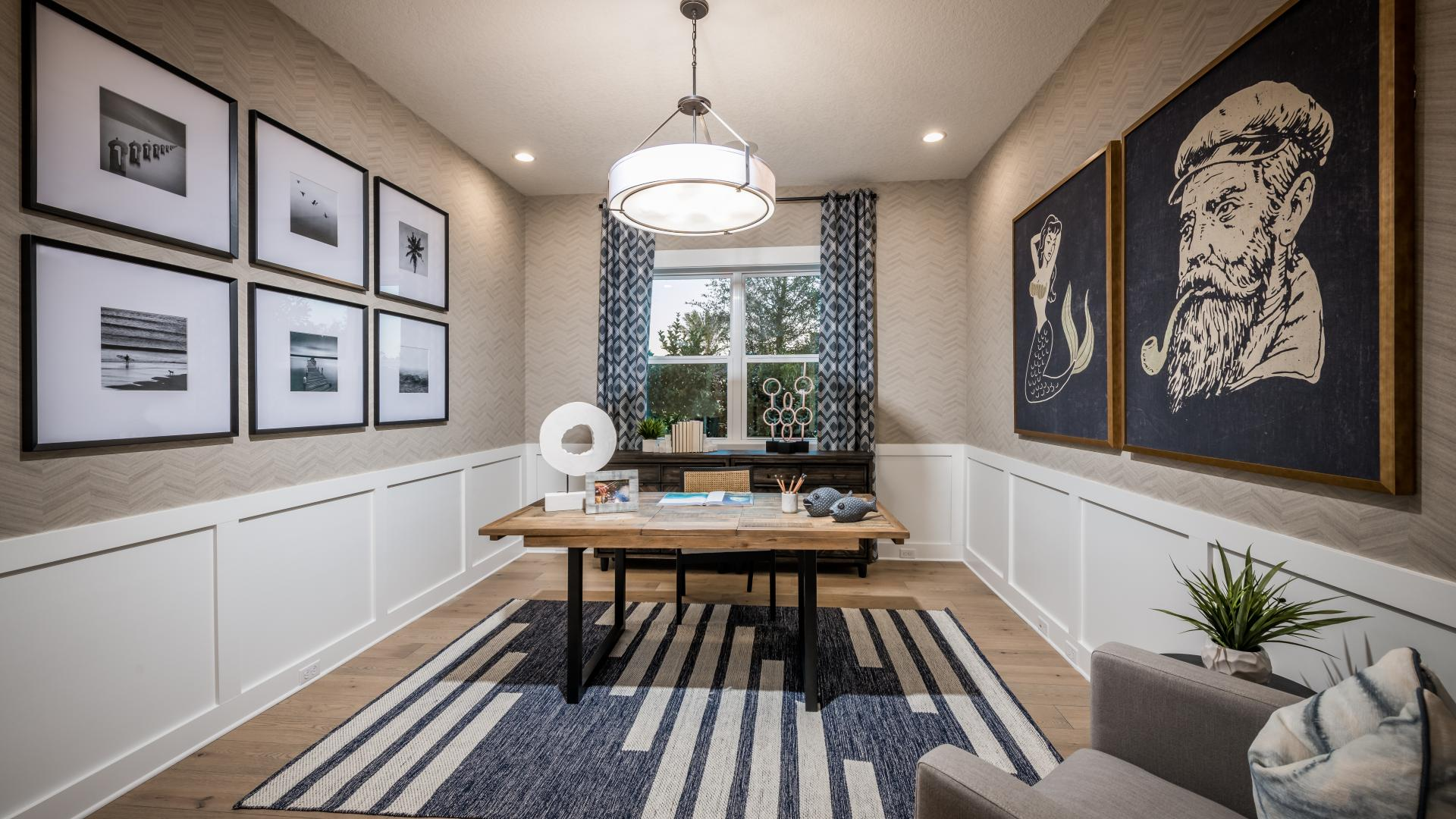 Private flex space for home offices
