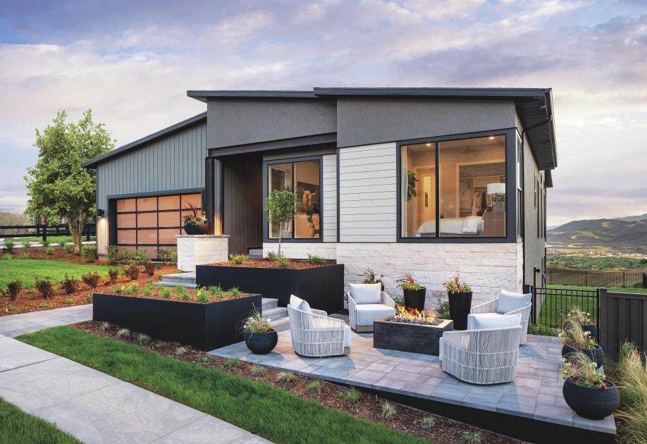 Modern exterior architectural designs