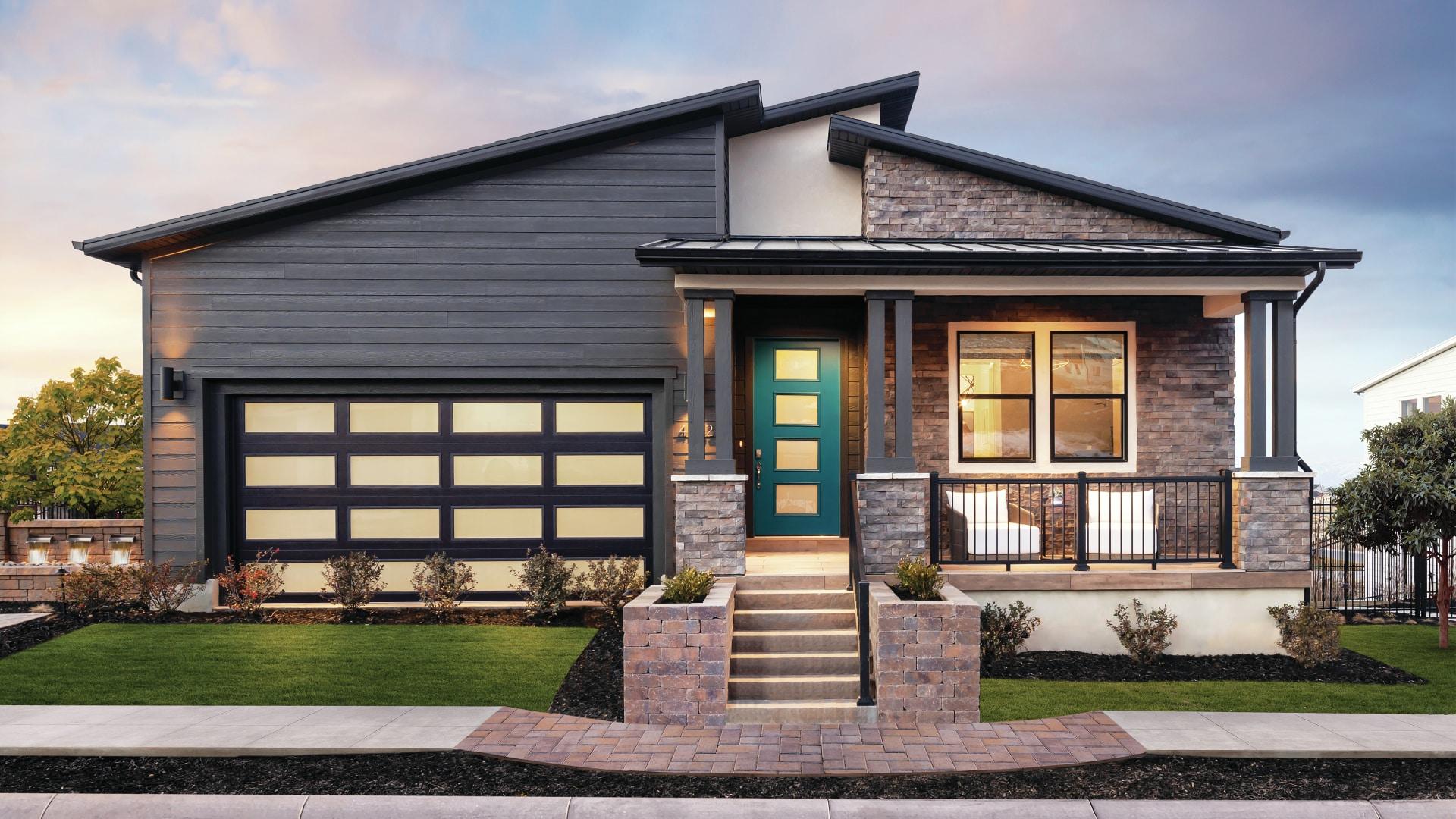 Modern Mountain exterior home designs