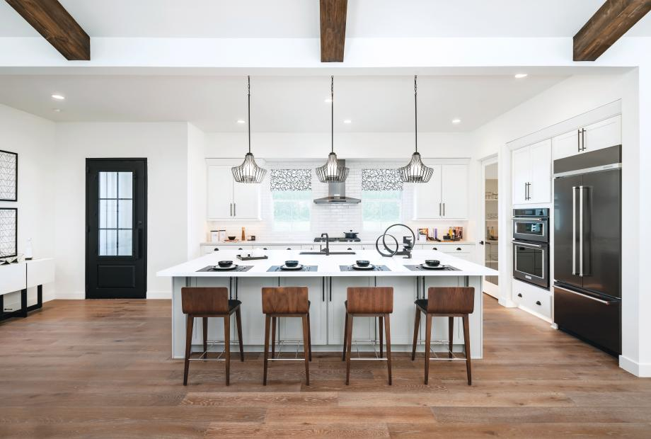 Home designs offer bright, open floor plans with plenty of windows