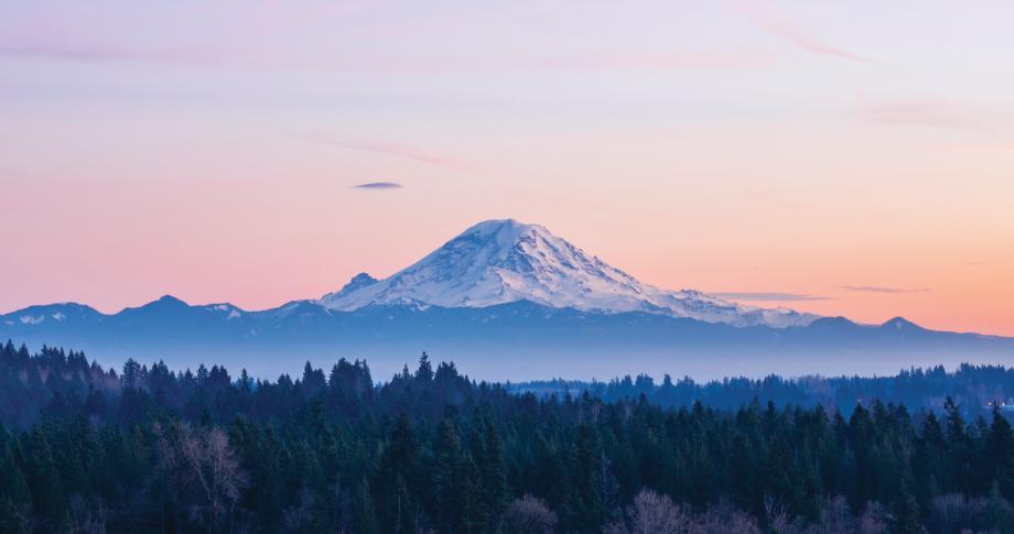 Make stunning vistas of Mt. Rainier part of your everyday